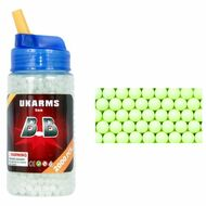 UKArms 2000 Glow In The Dark .12g Airsoft BB Pellets