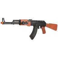 UKArms AK-47 Spring Airsoft Rifle Gun With Laser Sight