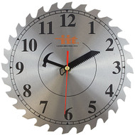 "10"" Saw Blade Decorative Shop Clock"