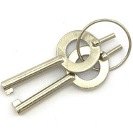 2 Piece Universal Standard Handcuff Keys