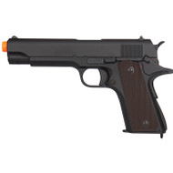 Lancer Tactical M1911 Full Auto Electric AEG Airsoft Pistol Gun
