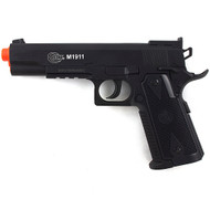 Colt M1911 Licensed CO2 Gas Non-Blowback Airsoft Pistol Gun