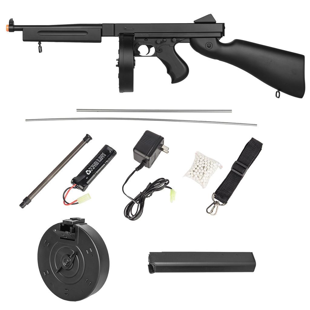 Well M1A1 Thompson Electric Airsoft AEG Rifle Gun