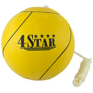 Official Yellow Tetherball With Regulation Rope