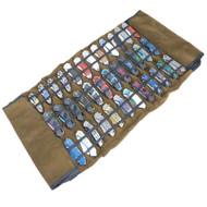 36 Folding Knives Portable Storage Canvas Roll Bag