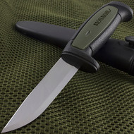 "Morakniv 8.25"" Basic 511 Black MG Fixed Blade Knife"