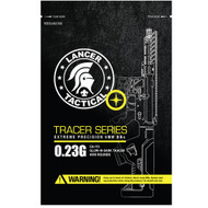 Lancer Tactical 4000 .23g Glow In The Dark Tracer Seamless Airsoft BBs