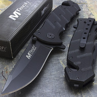 "MTech USA 7.75"" Rescue Folding Knife"