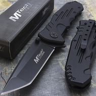 "MTech USA 7.75"" Tanto Folding Knife"