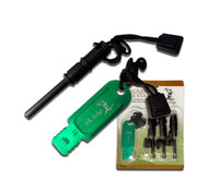 Elk Ridge 4 Piece Magnesium Fire Starter Set