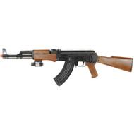 UKArms AK-47 Spring Airsoft Rifle Gun With Laser