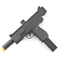 Double Eagle MAC-10 Uzi Spring Airsoft Pistol Gun