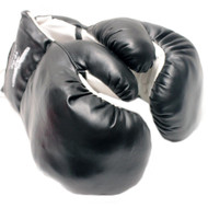 16 oz Adult Boxing Gloves Black