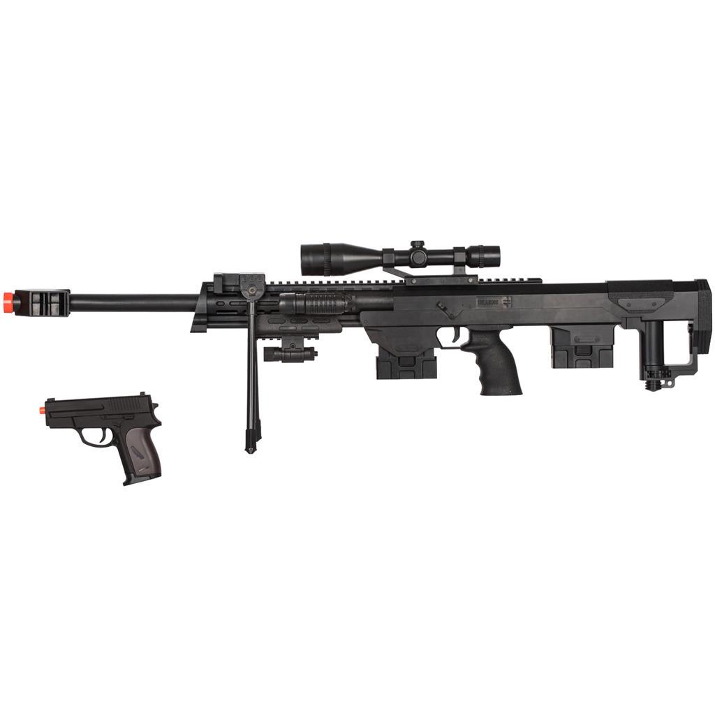 Ukarms M82 M107 50 Cal Spring Airsoft Sniper Rifle Gun Unlimited Wares Inc