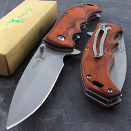 "Elk Ridge ER-A004SW 8.5"" Spring Assisted Folding Knife"
