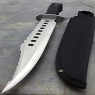 "17"" Large Tactical Sawback Survival Knife"