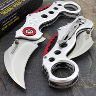 "Tac Force TF-578S 7.75"" Karambit Spring Assisted Folding Knife"