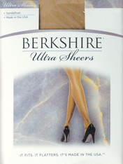 Berkshire Ultra Sheer Pantyhose Non Control Top Sandalfoot