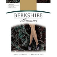 Berkshire Shimmers Ultra Sheer Control Top Pantyhose - Sandalfoot