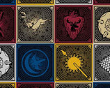 Game of Thrones - House Sigils from Springs Creative Fabric