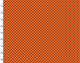 Halloween Party - Dots Orange from Quilter's Palette Fabric