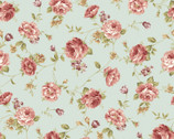 Zelie Ann - Else's Flower Sage by Eleanor Burns from Benartex Fabric