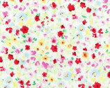 Flower Fields - Flower Colorful from Lecien Fabric