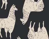 Cusco - Llama Black from Camelot Fabrics