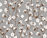 Loads of Fun - Cotton Plant Grey by Chelsea DesignWorks from Studio E Fabrics