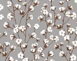 Loads of Fun - Cotton Plant Grey by Chelsea DesignWorks from Studio E Fabrics