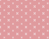 Antique Rose - Geometric Pink from David Textiles Fabric