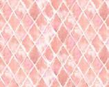 Flamingo Paradise - Geometric Diamond Pink from David Textiles Fabric