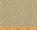 Atlas FLANNEL - Mini Pyramids Khaki Mustard by Another Point of View from Windham Fabrics