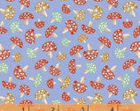 A Walk In The Woods - Mushroom Blue by Whistler Studios from Windham Fabrics