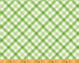 Silo - Plaid Green by Whistler Studios from Windham Fabrics