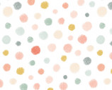 Woodland Tea Time - Dot White by Lucie Crovatto from Studie E Fabric