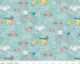Someday - Main Aqua by Minki Kim from Riley Blake Fabric