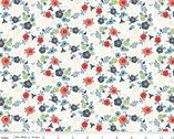 Hedge Rose - Garden Cream by Kelly Panacci from Riley Blake Fabric