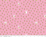 Gnome and Gardens - Carrot Patch Pink by Shawn Wallace from Riley Blake Fabric