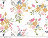 In The Meadow - Main White by Keera Job from Riley Blake Fabric