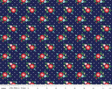 Simple Goodness - Floral Navy from Riley Blake Fabric