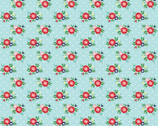 Simple Goodness - Floral Aqua from Riley Blake Fabric