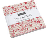 Fleur De Noel - Charm Pack by French General from Moda Fabrics