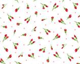 Chloe - Little Buds White from Maywood Studio Fabric