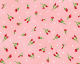 Chloe - Little Buds Light Pink from Maywood Studio Fabric
