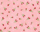 Chloe - Little Buds Light Pink from Maywood Studio Fabric