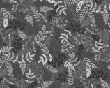 Midnight Pearl - Pearlescent Fern Grey by Kanvas from Benartex Fabric