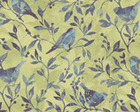 Jasmine - Birdy Vine by Susan Winget from Springs Creative Fabric