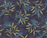 Jasmine - Dragonfly Floral by Susan Winget from Springs Creative Fabric
