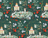 Imperial Garden - Scenic Green by Teresa Chan from Paintbrush Studio Fabrics